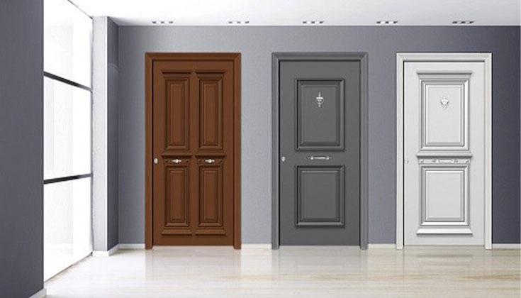 Πόρτες Με Επένδυση Αλουμινίου